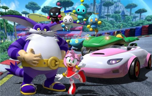 Amy, Chao, And Most Importantly Big The Cat Announced For Team Sonic Racing