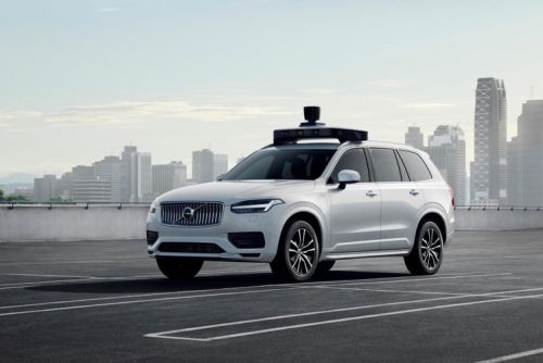 Uber and Volvo's first production self-driving car is ready