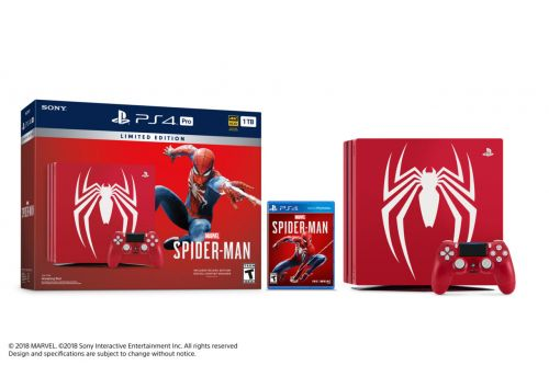 Comic-Con 2018: Cool-Looking Spider-Man PS4 Pro Bundle Announced
