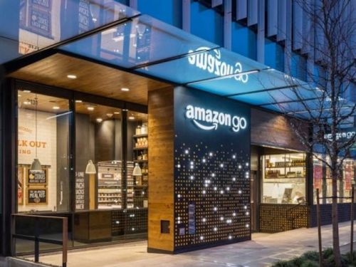Take a look inside Amazon's futuristic new store, which promises no checkout lines and tracks your purchases with high-tech sensors