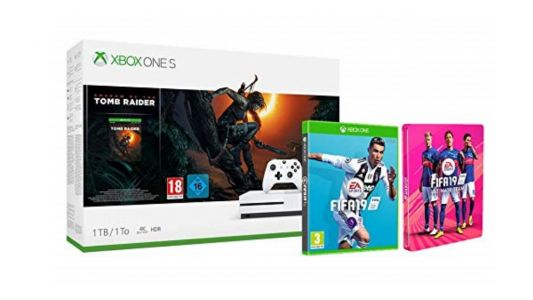 Save over £70 on this Xbox One Tomb Raider and FIFA 19 bundle in Amazon's Deal of the Day