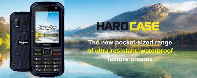 Energizer® is adding to their portfolio new HardCase mobile phone series