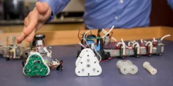 Autonomous Snake-like Robots Could Support Search and Rescue Teams