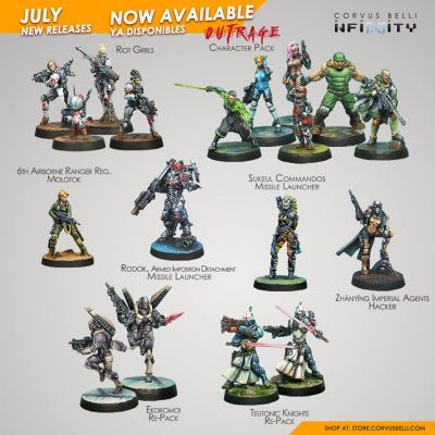 July Releases Available For Infinity