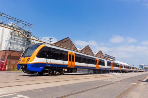 New trains finally for the London Overground
