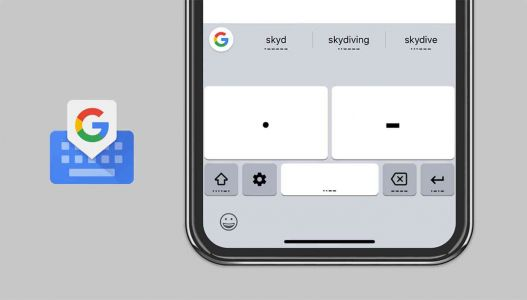 Google adds Morse code to Gboard for iOS, makes improvements to Gboard for Android