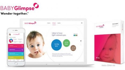 BABYGlimpse DNA-Based App Predicts Your Baby's Genetic Code