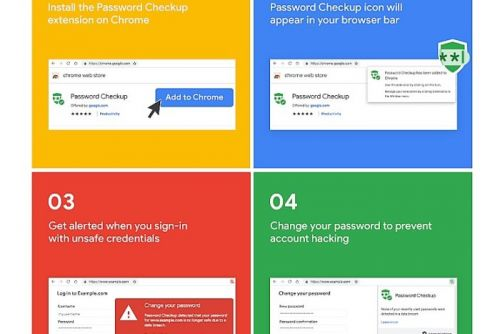 Google's Password Checkup plugin for Chrome can warn you if your password was stolen