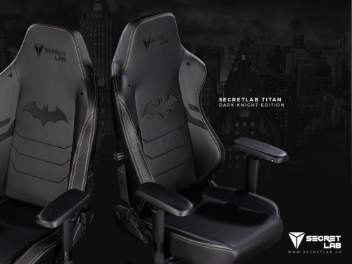 Secretlab embraces the Dark Knight with Batman anniversary gaming chair