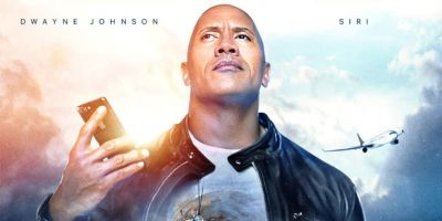 The Rock teams up with Apple's Siri for his next movie
