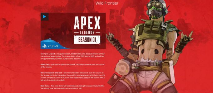 Another New Apex Legends Character Is Coming In Season 1, According To Sony