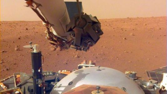 InSight's Robotic Arm is Ready for Heavy Lifting