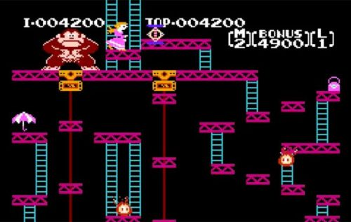 Arcade Donkey Kong, Sky Skipper games coming to Nintendo Switch