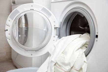 Every parent's nightmare: A 3-year-old gets trapped in a washing machine