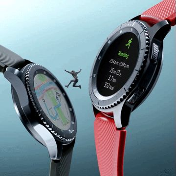 Track your steps, runs and flying leaps with the Gear S3