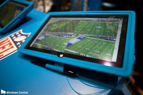 Surface survives Bill Belichick temper tantrum, just as it's designed to do