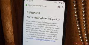 New AI tool found 40,000 notable scientists without articles on Wikipedia