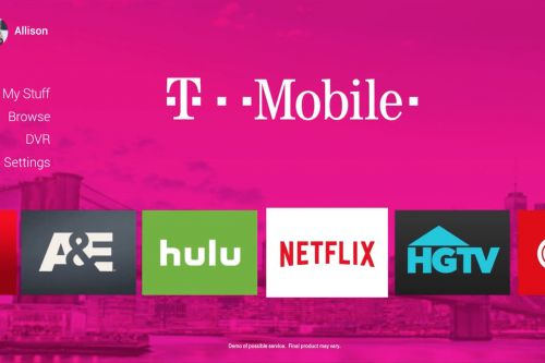 T-Mobile will launch a TV service next year