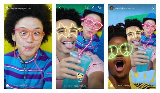 Instagram's new feature lets you draw on your friends' photos