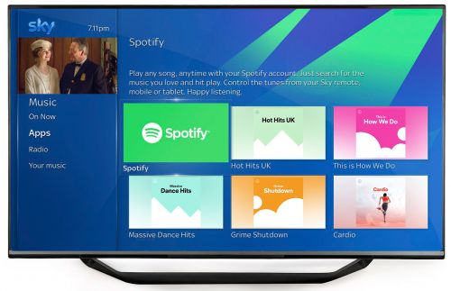 Sky Q is getting better personalisation features and Spotify