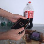Watch: Will the NOMU S10 Pro Survive 5 hours in Frozen Water and Coke?
