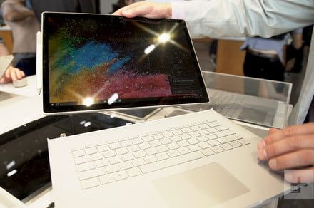 Microsoft Surface Book 2 hands on review