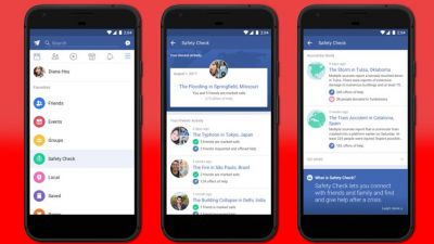 Facebook rolls out a dedicated Safety Check page