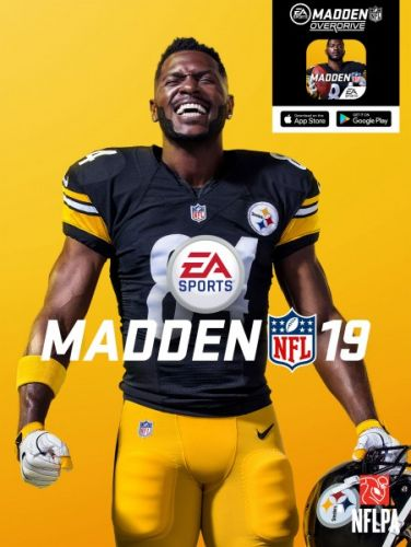 Antonio Brown Is Madden NFL 19's Cover Star