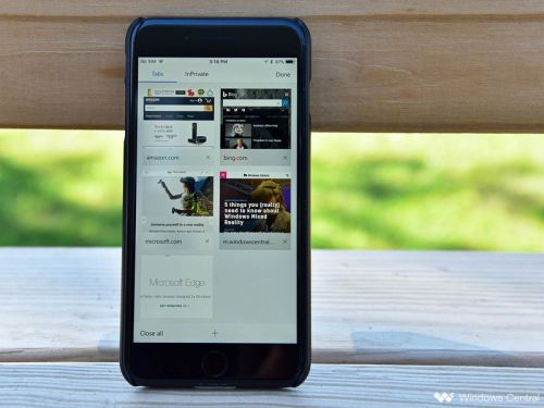 Microsoft Edge for iOS and Android adds single sign-on for enterprise users