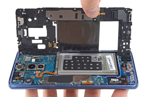 Samsung Galaxy S9 teardown helps explain its camera tricks