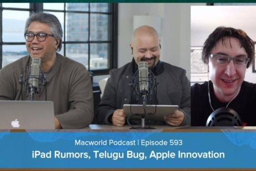 IPad rumors, Telugu bug, Apple the most innovative company, and your comments and questions: Macworld Podcast episode 593