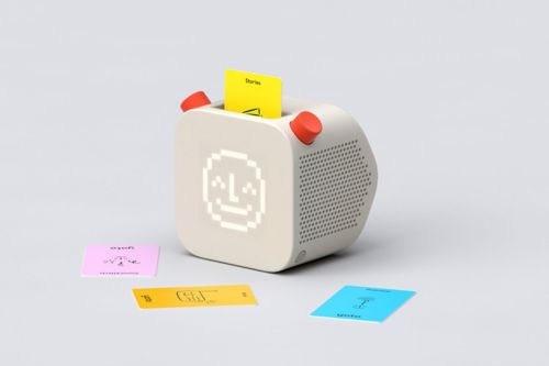 Pentagram designed a smart speaker that's like HitClips for kids