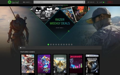 Razer is closing its game store after less than a year