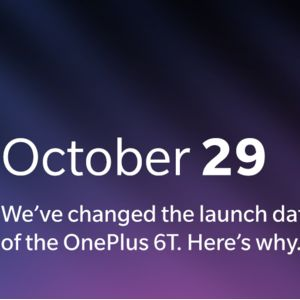 OnePlus will unveil the OnePlus 6T a day early; Apple is to blame