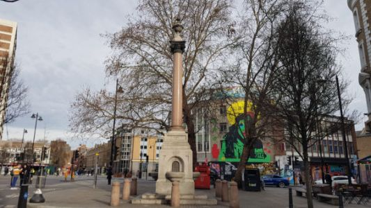 Have you seen the tall Victorian drinking fountain at Old Street junction