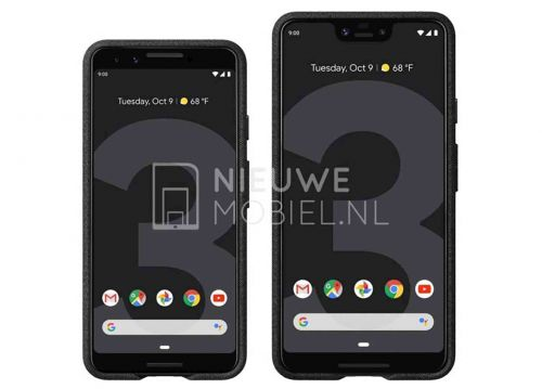 New Google Pixel 3 and Pixel 3 XL renders leak