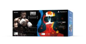 Two new PS VR bundles include Creed: Rise to Glory and Superhot