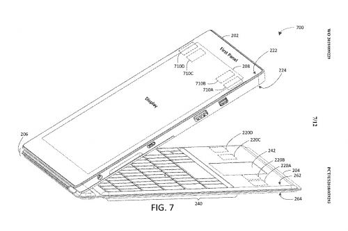 Microsoft patent hints at Surface Pro 7 with USB-C and new Type Cover
