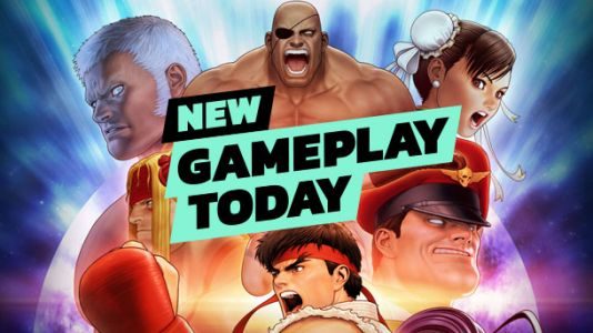 New Gameplay Today - Street Fighter 30th Anniversary Collection