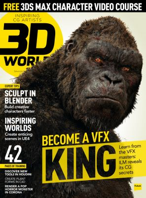 Learn from the VFX masters in the latest 3D World