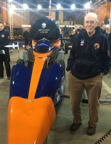Bloodhound: A day at the supersonic races with Oracle