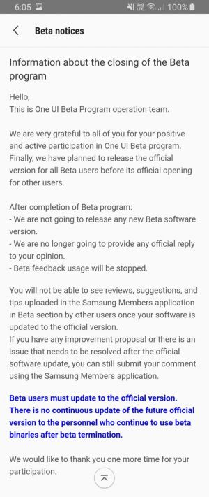 Samsung Expands Galaxy S8 Android 9 Pie Rollout, Beta Program Ending