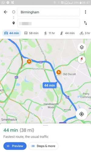 Google Maps starts showing speed trap warnings for some users