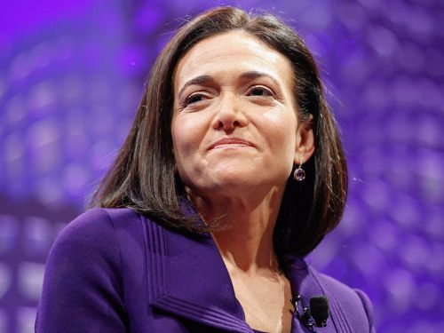 When Sheryl Sandberg first moved to Silicon Valley, Google's Eric Schmidt gave her advice she still uses today