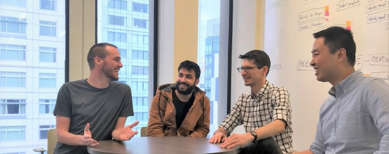 Four MIT students have launched DeepBench to democratize access to expert networks