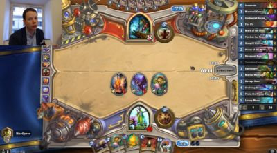 Ask this Swedish politician anything during his weekly Hearthstone Twitch stream