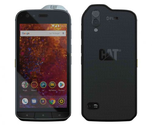Cat S61 is a rugged Android Oreo phone with thermal imaging camera, $999 price tag