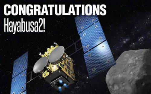 JAXA's Hayabusa2 spacecraft successfully lands on asteroid Ryugu
