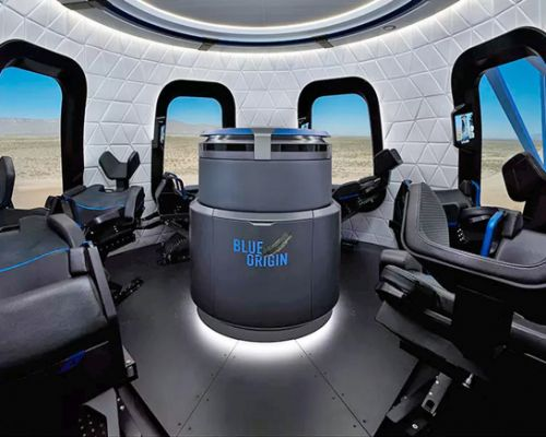 Jeff Bezos's Blue Origin will fly you to space if you've got $200,000 to spare