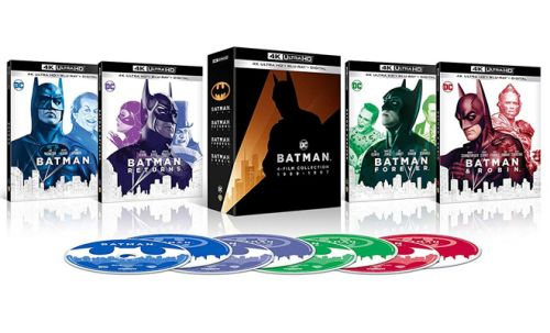 Batman 4-Film Collection 4K Ultra HD Set Up for Pre-Order at Amazon